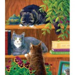 Puzzle  Sunsout-31611 Linda Eliot - I Got There First
