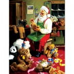 Puzzle  Sunsout-32138 XXL Pieces - Bearly Christmas