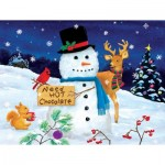 Puzzle  Sunsout-32716 XXL Pieces - Kathy Kehoe bambeck - Need Hot Chocolate