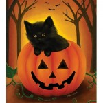 Puzzle  Sunsout-32724 XXL Pieces - Halloween Kitten