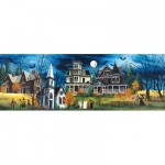 Puzzle  Sunsout-32754 XXL Pieces - Spooky Lane