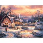 Puzzle  Sunsout-33714 XXL Pieces - Country Holidays