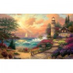 Puzzle  Sunsout-33759 XXL Pieces - Seaside Dreams