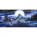 Puzzle  Sunsout-34626 Al Agnew - Night Wolves