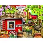 Puzzle  Sunsout-34751 XXL Pieces - Milk House Crew