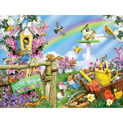 Puzzle Sunsout-34840 XXL Pieces - Spring Egg Hunt