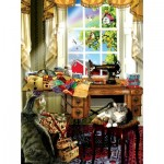Puzzle  Sunsout-34981 XXL Pieces - Lori Schory - The Sewing Room