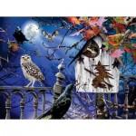 Puzzle  Sunsout-35010 XXL Pieces - Halloween Birdhouse