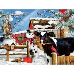 Puzzle  Sunsout-35090 XXL Pieces - Lori Schory - The Carrot Thief