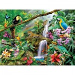 Puzzle  Sunsout-35098 Lori Schory - Tropical Holiday