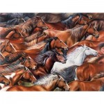 Puzzle  Sunsout-35310 XXL Pieces - Horse of a Different Color