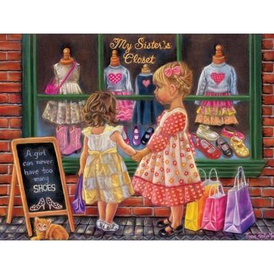 Puzzle Sunsout-35855 XXL Pieces - My Sister's Closet
