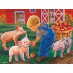Puzzle  Sunsout-35875 XXL Pieces - Little Farm Boy