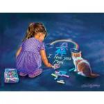 Puzzle  Sunsout-35882 XXL Pieces - A Little Artist