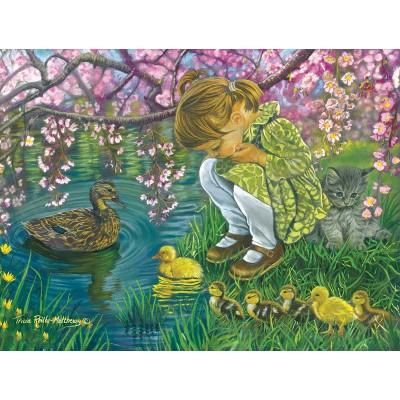 Puzzle Sunsout-35883 XXL Pieces - Tricia Reilly-Matthews - A Mother's Love