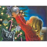 Puzzle  Sunsout-35904 XXL Pieces - Santa's Midnight Helper