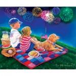 Puzzle  Sunsout-35918 XXL Pieces - Fireworks Finale