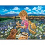 Puzzle  Sunsout-35924 XXL Pieces - Tricia Reilly-Matthews - Country Girl
