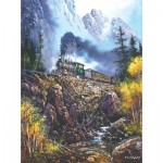 Puzzle  Sunsout-36110 Ted Blaylock - Hazardous Travel