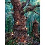 Puzzle  Sunsout-36510 XXL Pieces - Jeff Tift - Forest Gnomes