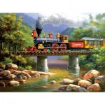Puzzle  Sunsout-36611 XXL Pieces - The Lexington Express
