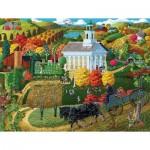 Puzzle  Sunsout-38761 XXL Pieces - A Country Church