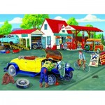 Puzzle  Sunsout-38840 XXL Pieces - Joseph Burgess -  Somerset Service Station