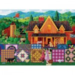 Puzzle  Sunsout-38842 XXL Pieces - Morning Day Quilt