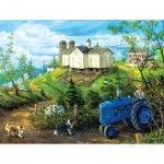 Puzzle  Sunsout-38887 XXL Pieces - Green Pastures