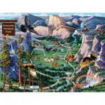 Puzzle  Sunsout-38890 Joseph Burgess - Yosemite Adventures