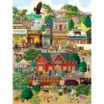 Puzzle  Sunsout-38936 XXL Pieces - Western Town