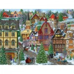 Puzzle  Sunsout-38937 XXL Pieces - Winter Village Square