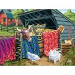 Puzzle  Sunsout-38946 XXL Pieces - Joseph Burgess - Quilt Cow