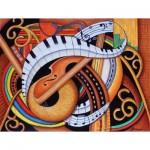 Puzzle  Sunsout-39366 XXL Pieces - Sound of Soul Strings