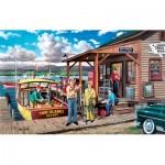 Puzzle  Sunsout-39370 Ken Zylla - Minnesota Gothic