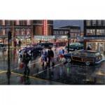 Puzzle  Sunsout-39388 Ken Zylla -  Christmas Crosswalk