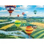 Puzzle  Sunsout-39488 XXL Pieces - Ballooner's Rally