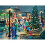 Puzzle  Sunsout-39497 XXL Pieces - Holiday Lights