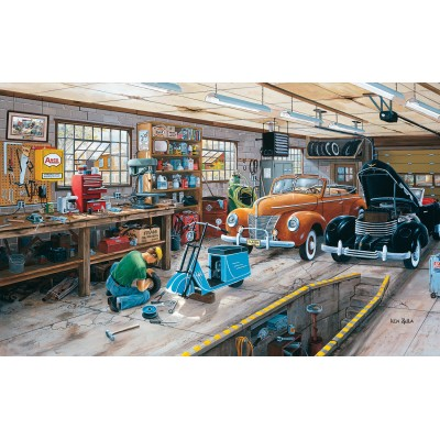 Puzzle Sunsout-39524 XXL Pieces - Ken Zylla - Ford and a Cord