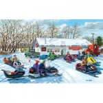 Puzzle  Sunsout-39554 XXL Pieces - Red Lake Rendevous