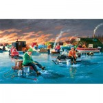 Puzzle  Sunsout-39565 XXL Pieces - Fishing Contest