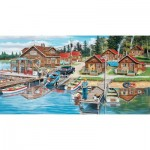 Puzzle  Sunsout-39610 XXL Pieces - Timber Lodge