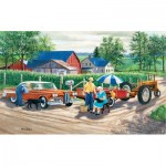 Puzzle  Sunsout-39629 XXL Pieces - Doc's New Edsel