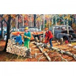 Puzzle  Sunsout-39662 XXL Pieces - Fall Chores