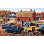 Puzzle  Sunsout-39816 Ken Zylla - Barnyard Gems