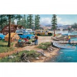 Puzzle  Sunsout-39839 XXL Pieces - Weekend Retreat