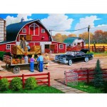 Puzzle  Sunsout-39863 Ken Zylla - A Season of Plenty