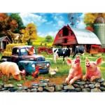 Puzzle  Sunsout-42029 XXL Pieces - Sharon Steele - Down Home