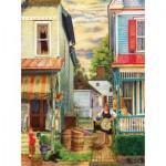 Puzzle  Sunsout-44182 Susan Brabeau - Porch Gossip