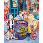 Puzzle  Sunsout-44262 Susan Brabeau - Playing Checkers